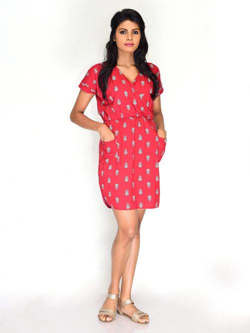 Printed Cross Dress