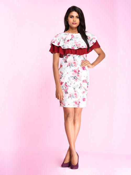 Raffle Floral Dress