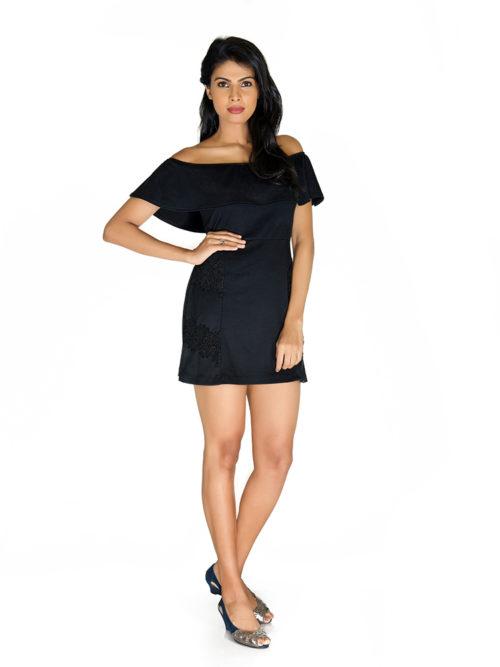 Raffle Short Dress