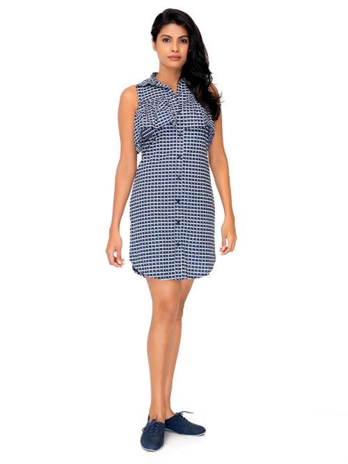 Raffle Blue Dress