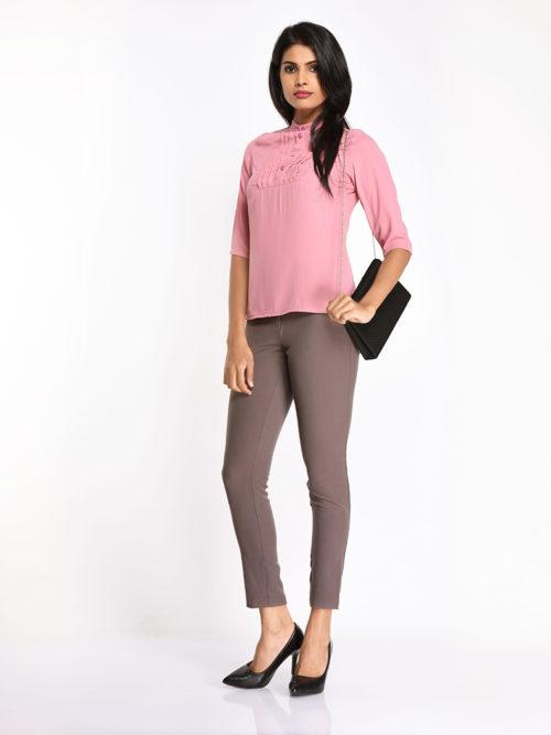 Pink Formal Top