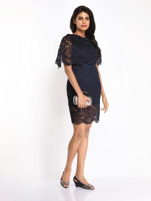 Raffle Lace Dress