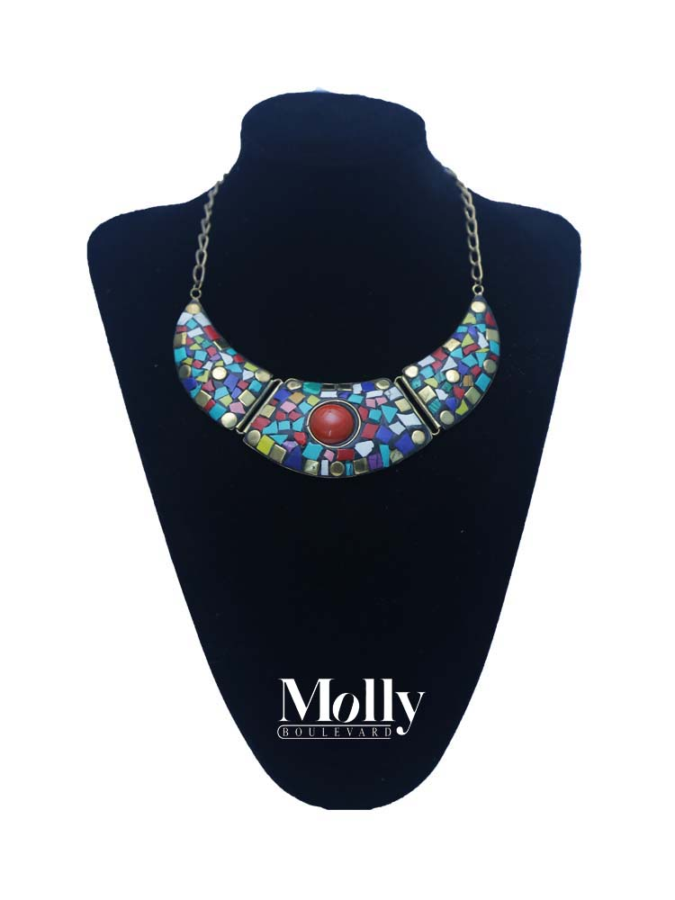 Necklace Multi Colour