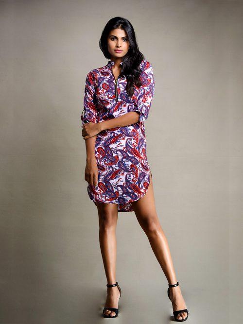 Zipper Dress - Women / Dresses